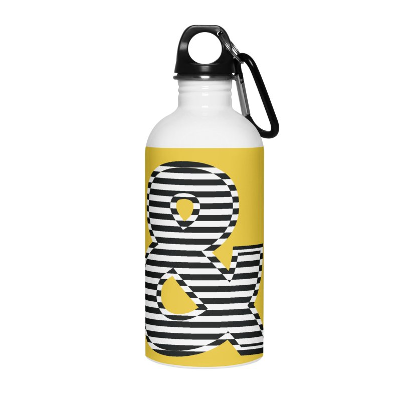 The Ampersand Accessories Water Bottle by YANMOS