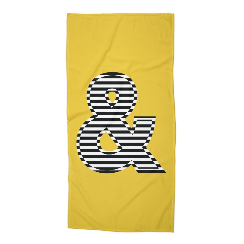 The Ampersand Accessories Beach Towel by YANMOS