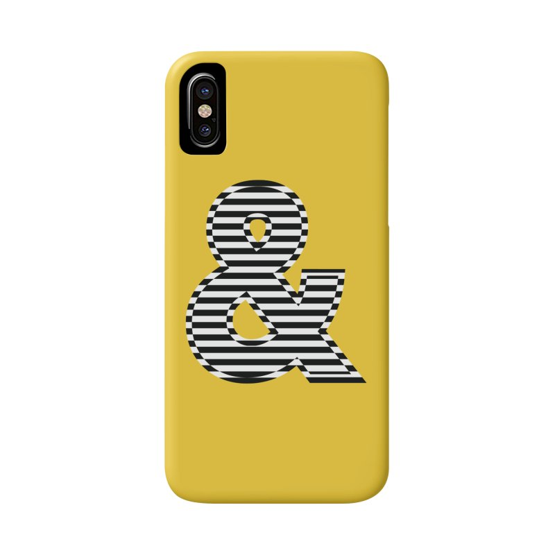 The Ampersand Accessories Phone Case by YANMOS