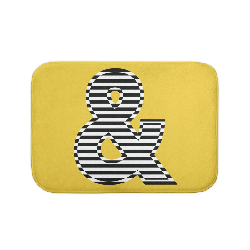 The Ampersand Home Bath Mat by YANMOS