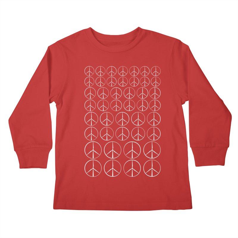 Green peace(wind power) Kids Longsleeve T-Shirt by YANMOS