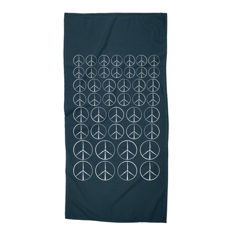 Green peace(wind power) Accessories Beach Towel by YANMOS