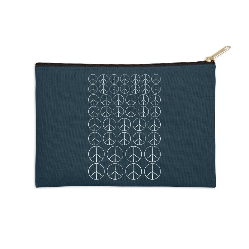Green peace(wind power) Accessories Zip Pouch by YANMOS