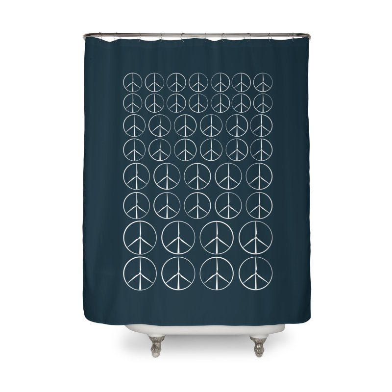 Green peace(wind power) Home Shower Curtain by YANMOS