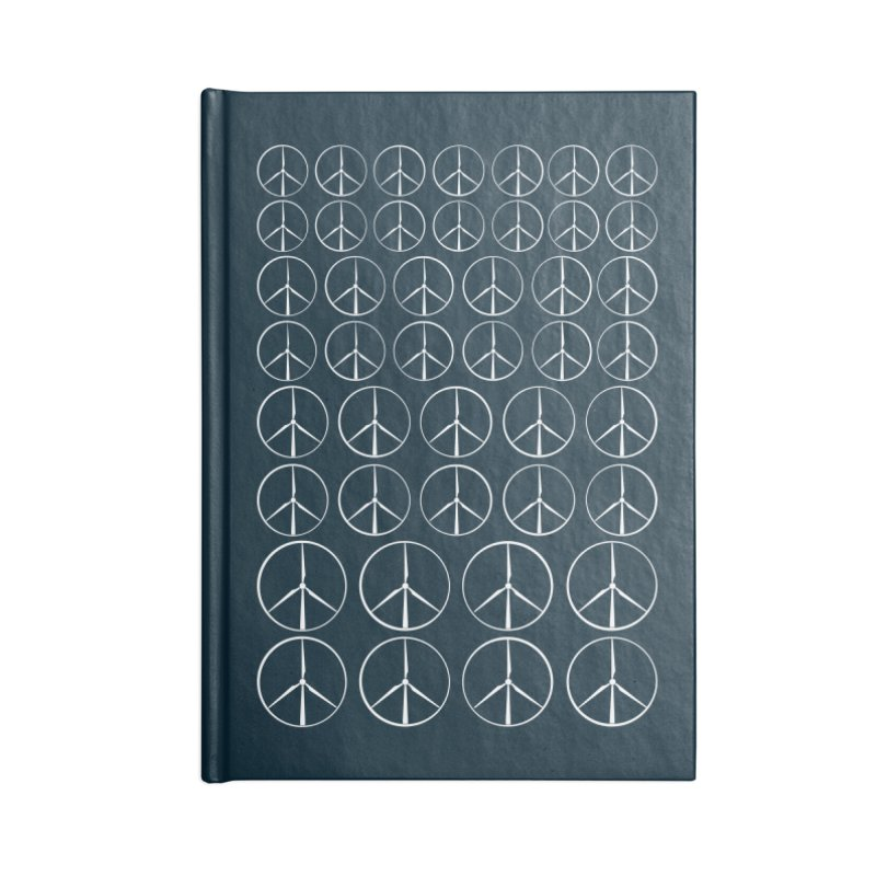 Green peace(wind power) Accessories Notebook by YANMOS