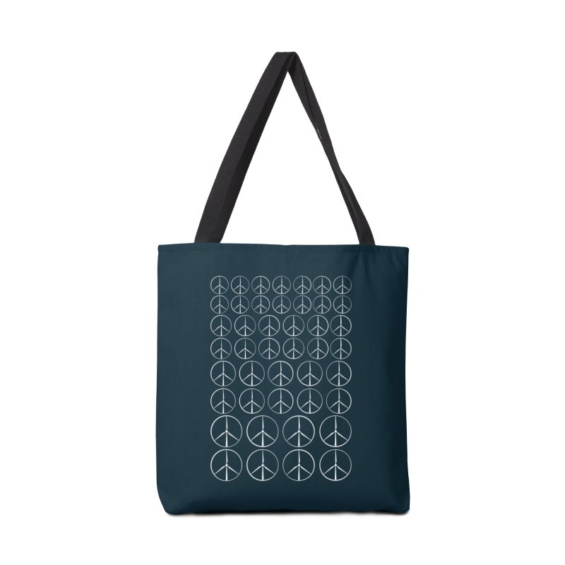 Green peace(wind power) Accessories Bag by YANMOS