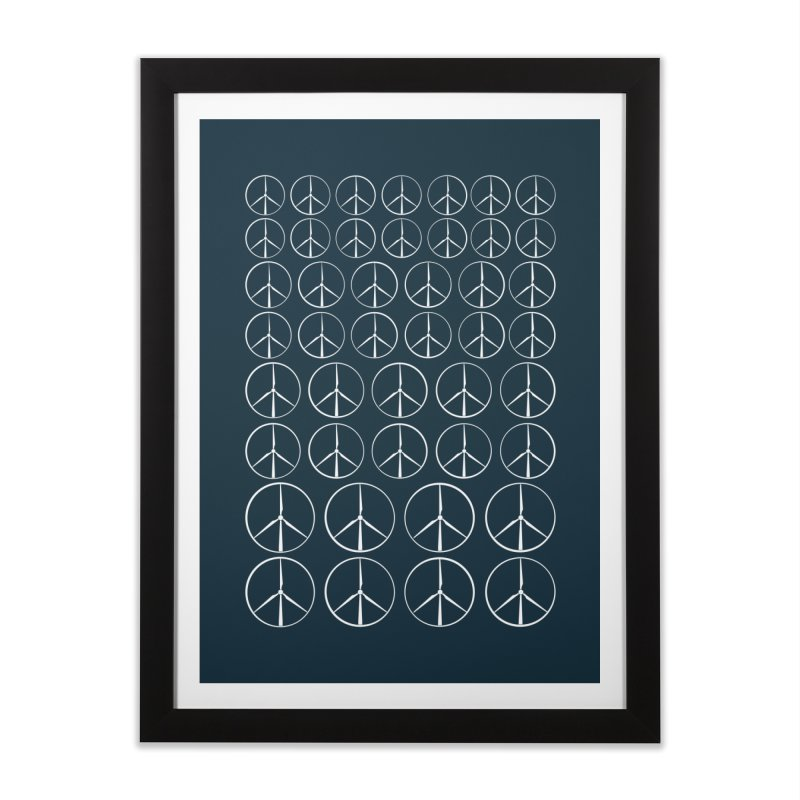 Green peace(wind power) Home Framed Fine Art Print by YANMOS