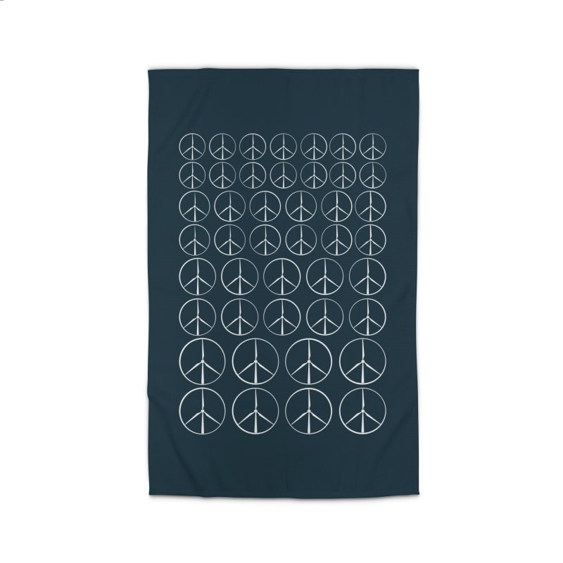 Green peace(wind power) Home Rug by YANMOS