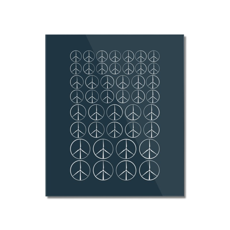 Green peace(wind power) Home Mounted Acrylic Print by YANMOS