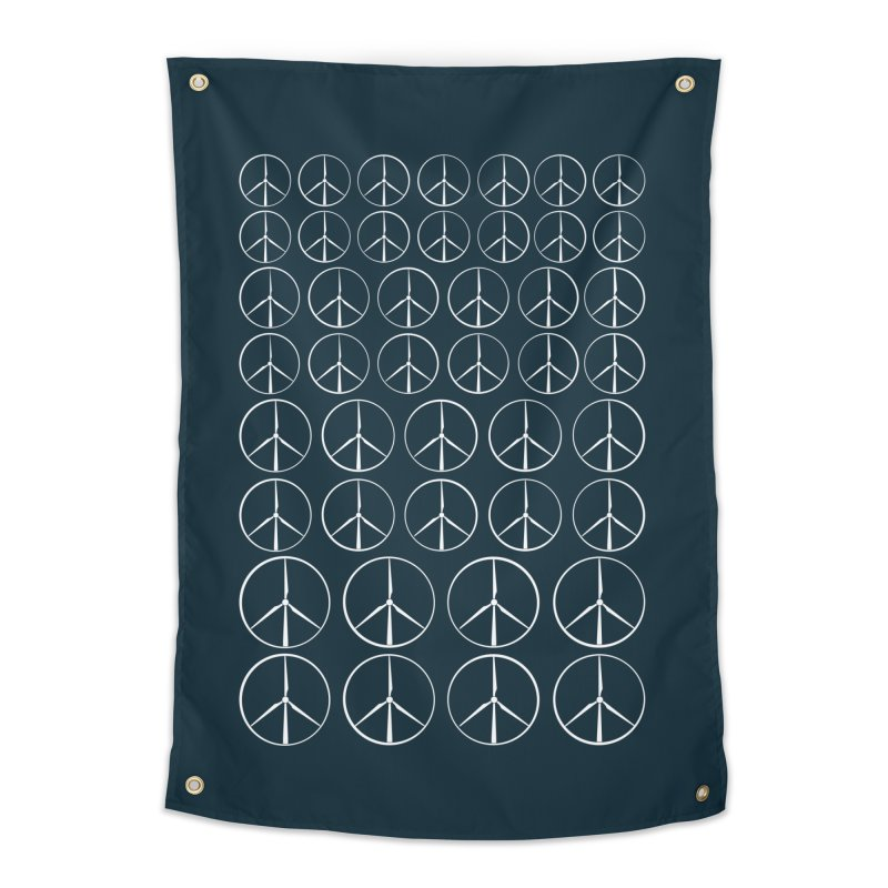 Green peace(wind power) Home Tapestry by YANMOS