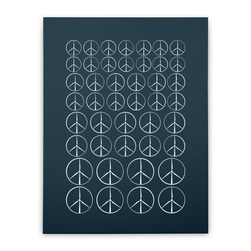 Green peace(wind power) Home Stretched Canvas by YANMOS