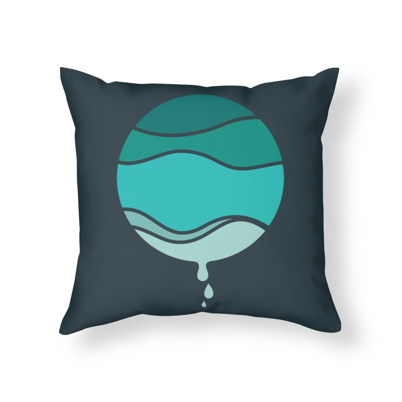 H2O Home Throw Pillow by YANMOS
