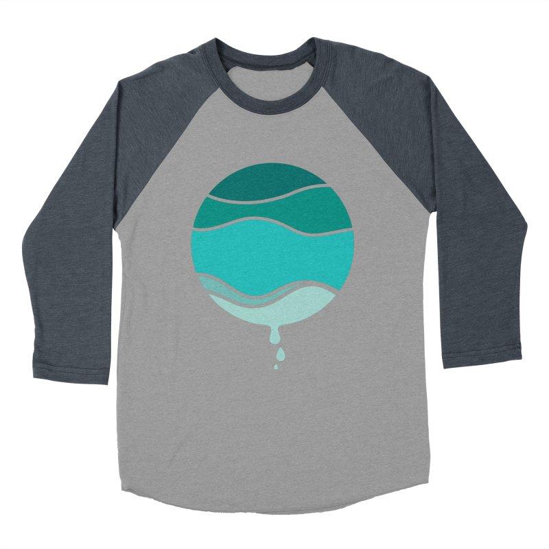 H2O Women's Baseball Triblend T-Shirt by YANMOS
