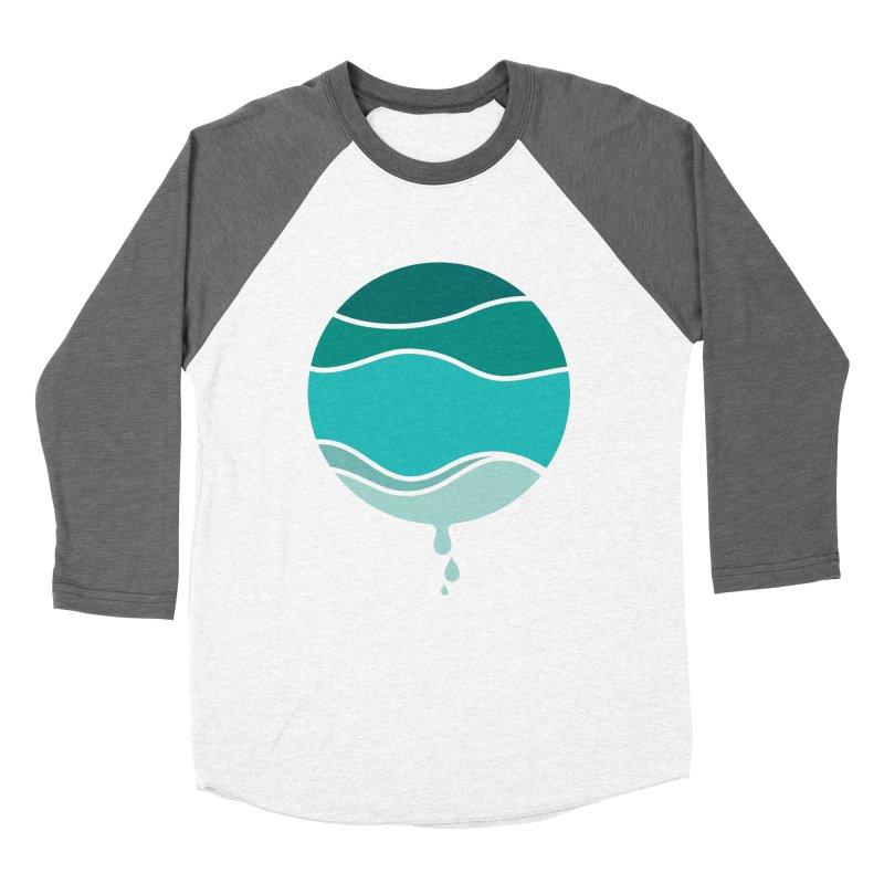 H2O Men's Baseball Triblend T-Shirt by YANMOS