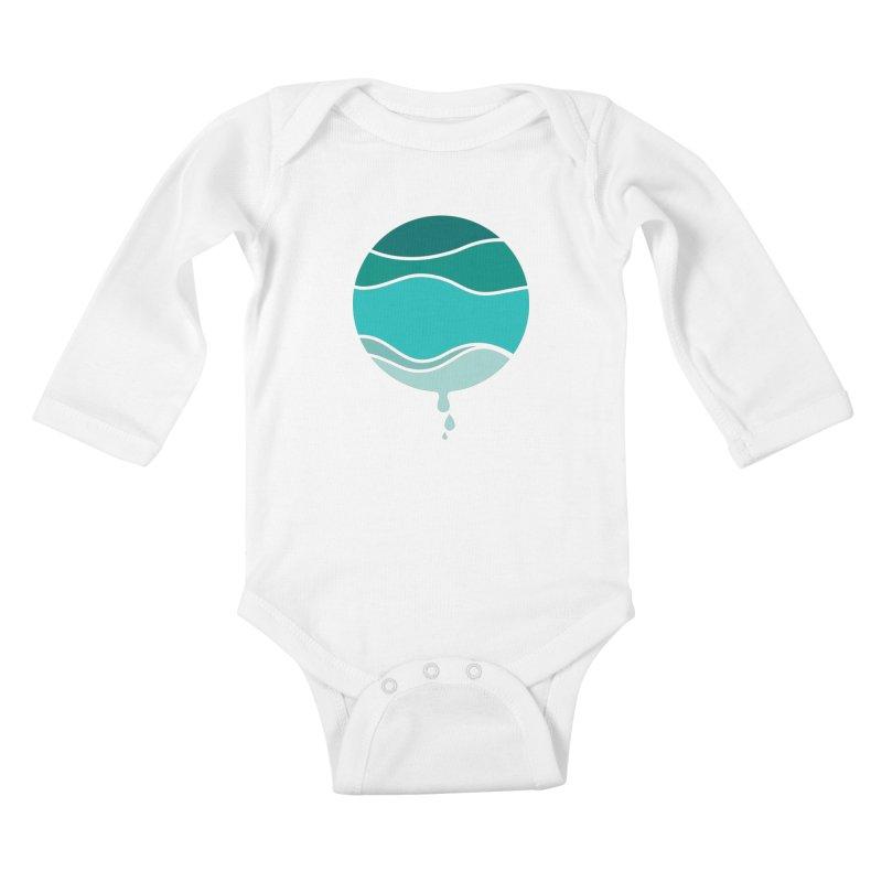 H2O Kids Baby Longsleeve Bodysuit by YANMOS