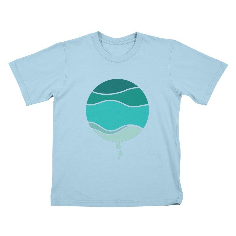 H2O Kids T-Shirt by YANMOS