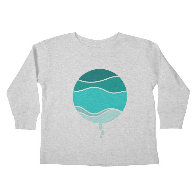 H2O Kids Toddler Longsleeve T-Shirt by YANMOS