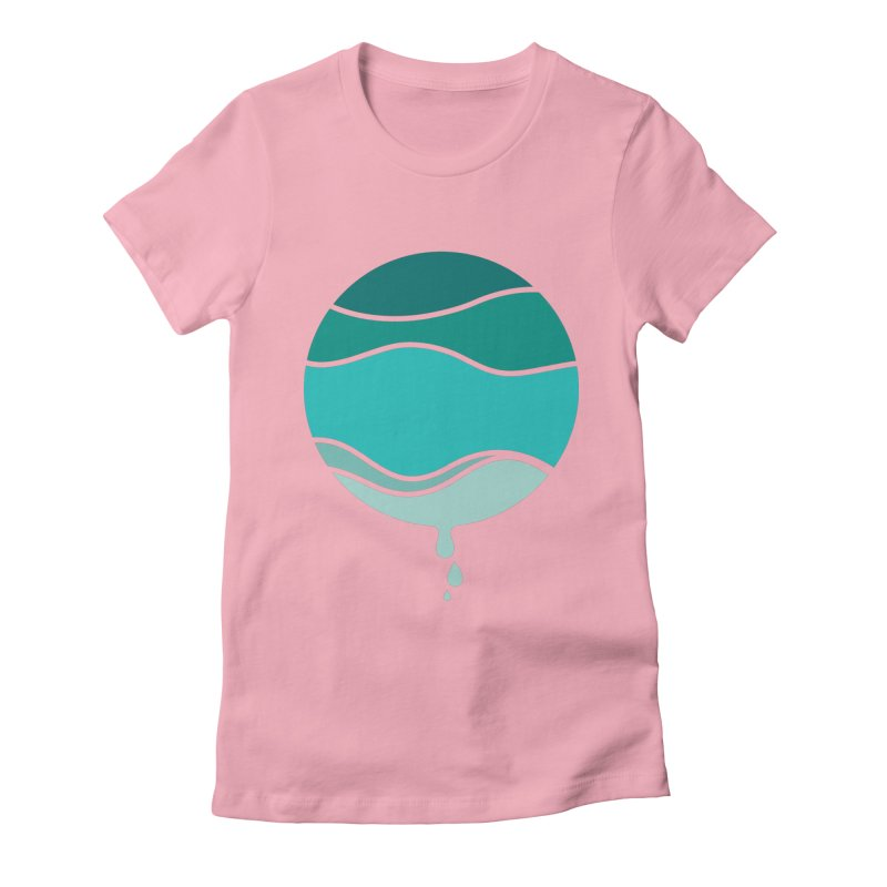H2O Women's Fitted T-Shirt by YANMOS