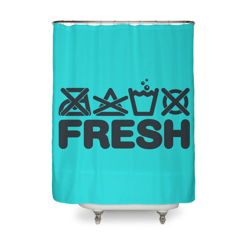 FRESH Home Shower Curtain by YANMOS