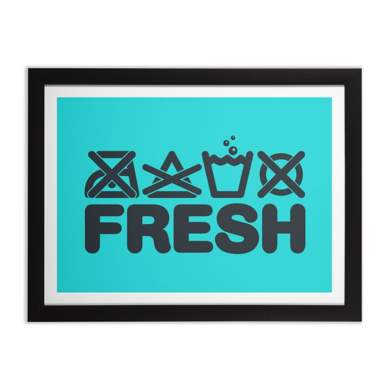 FRESH Home Framed Fine Art Print by YANMOS