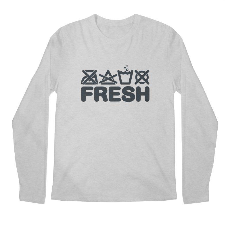 FRESH Men's Longsleeve T-Shirt by YANMOS
