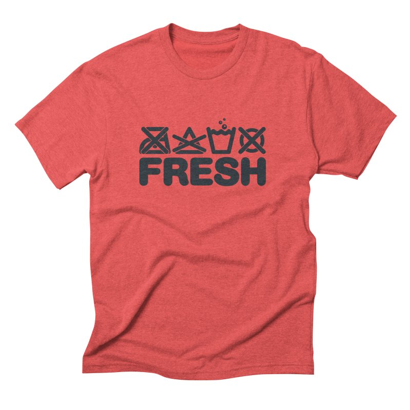 FRESH Men's Triblend T-Shirt by YANMOS