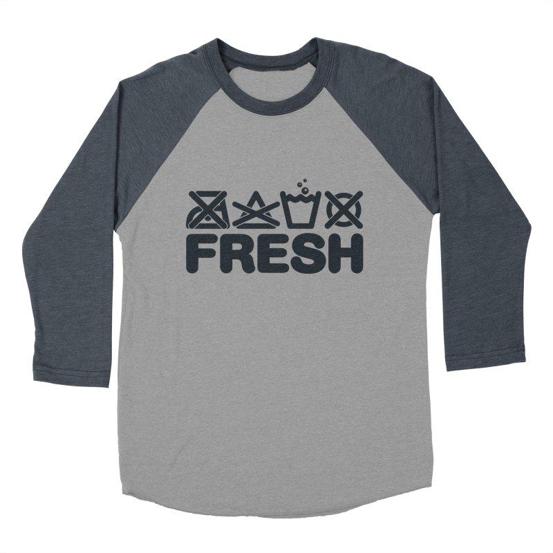 FRESH Men's Baseball Triblend T-Shirt by YANMOS