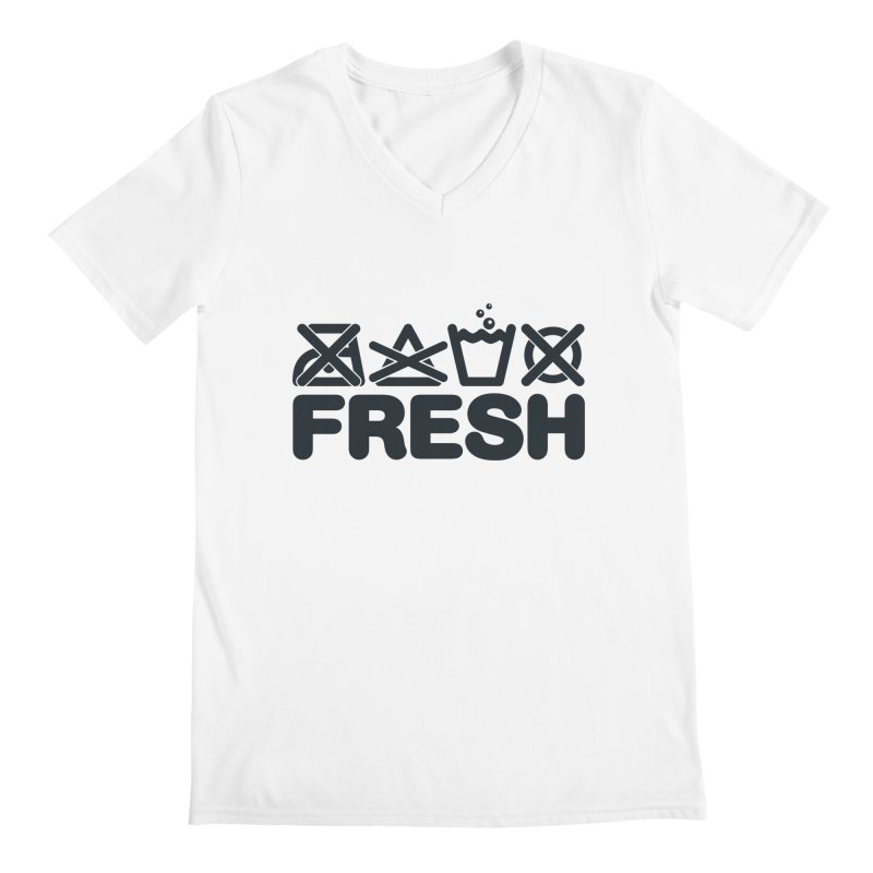 FRESH Men's Regular V-Neck by YANMOS