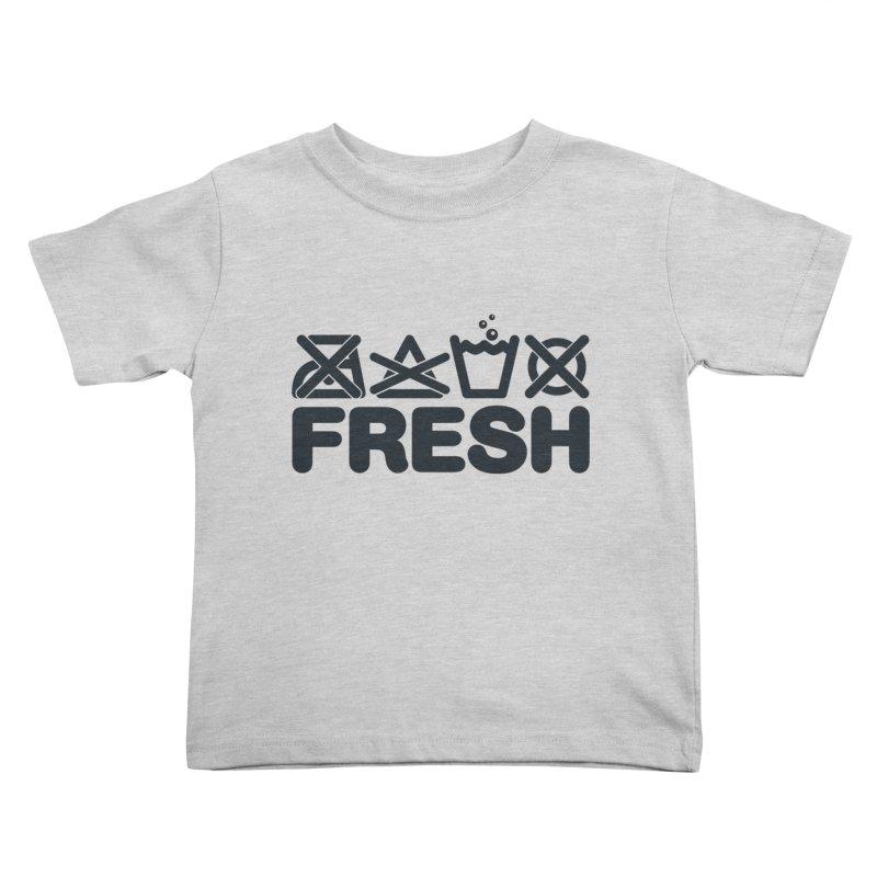 FRESH Kids Toddler T-Shirt by YANMOS