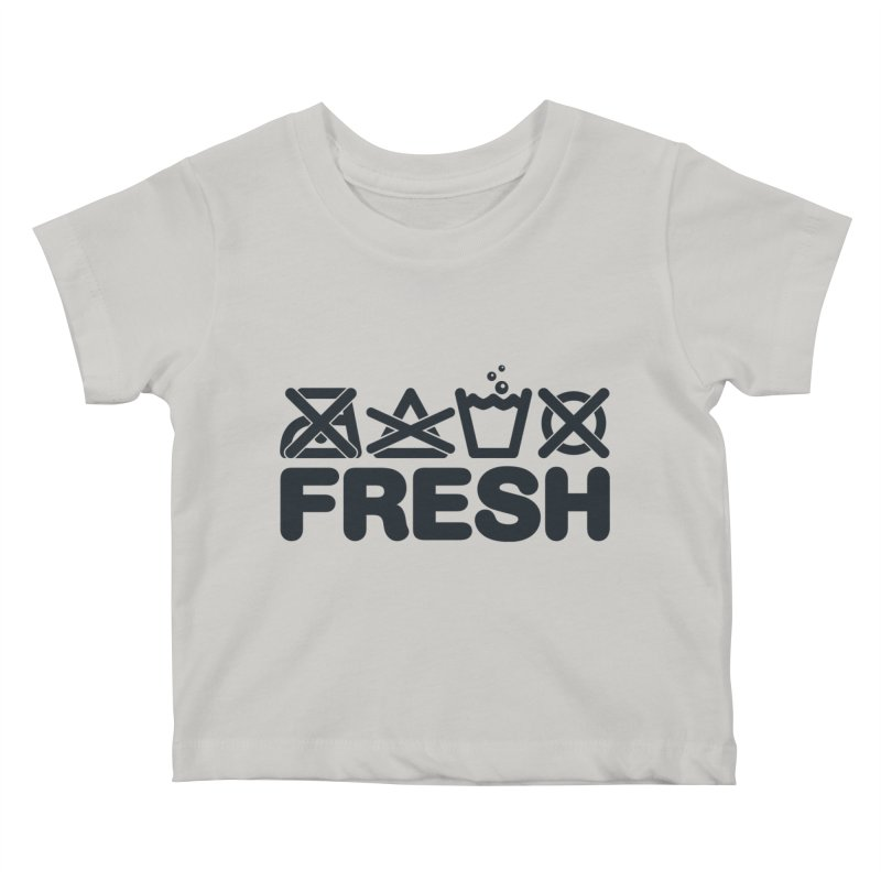 FRESH Kids Baby T-Shirt by YANMOS