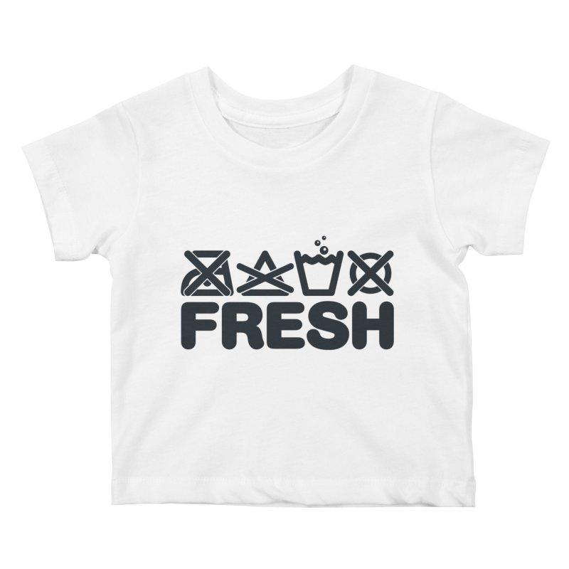 FRESH Kids Baby T-Shirt by YANMOS