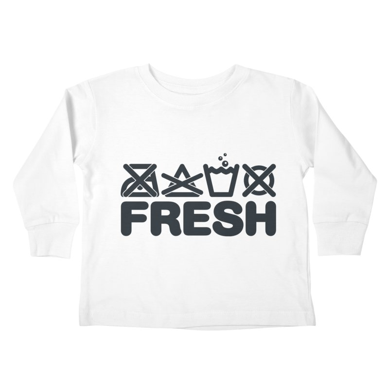 FRESH Kids Toddler Longsleeve T-Shirt by YANMOS