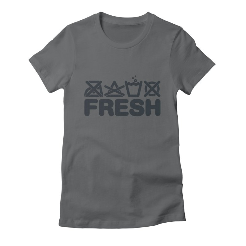 FRESH Women's Fitted T-Shirt by YANMOS