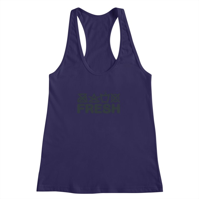 FRESH Women's Racerback Tank by YANMOS