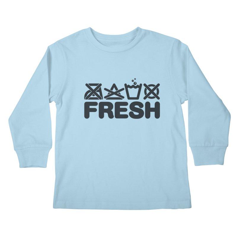 FRESH Kids Longsleeve T-Shirt by YANMOS