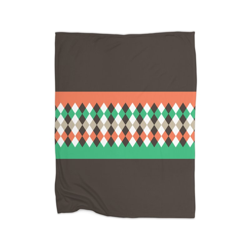 Countryside Pattern #1 Home Blanket by YANMOS