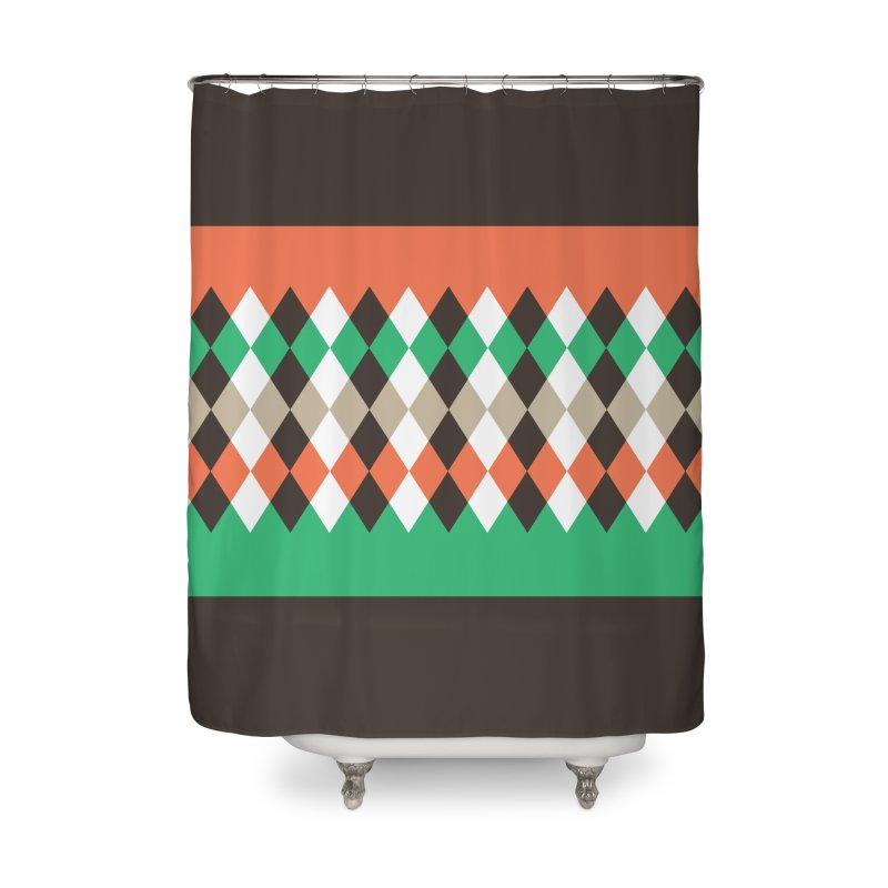 Countryside Pattern #1 Home Shower Curtain by YANMOS