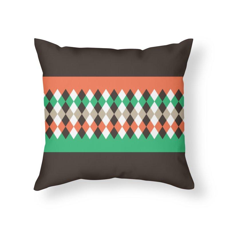 Countryside Pattern #1 in Throw Pillow by YANMOS