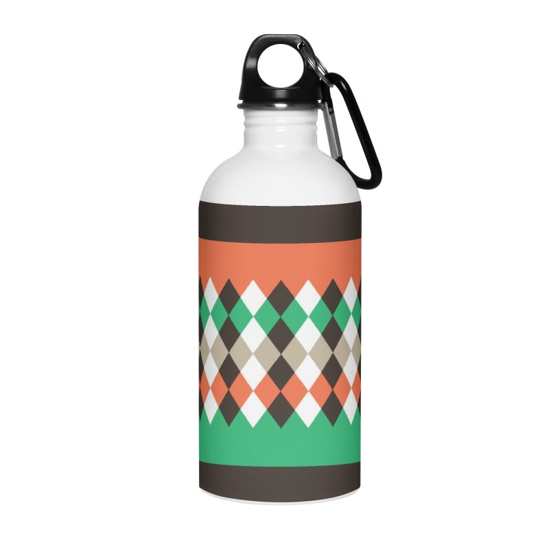 Countryside Pattern #1 Accessories Water Bottle by YANMOS