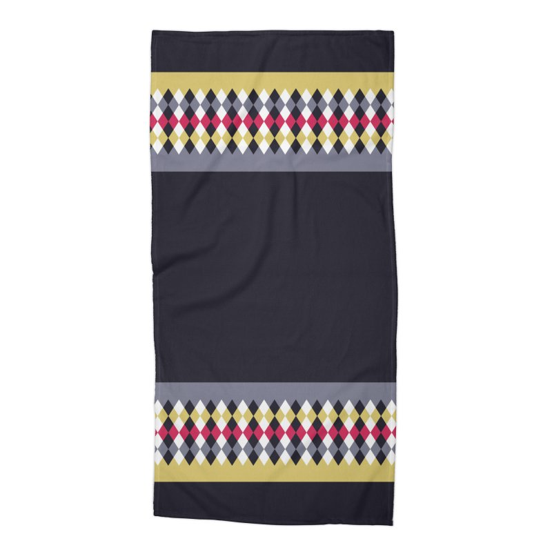 Countryside Pattern #2 Accessories Beach Towel by YANMOS