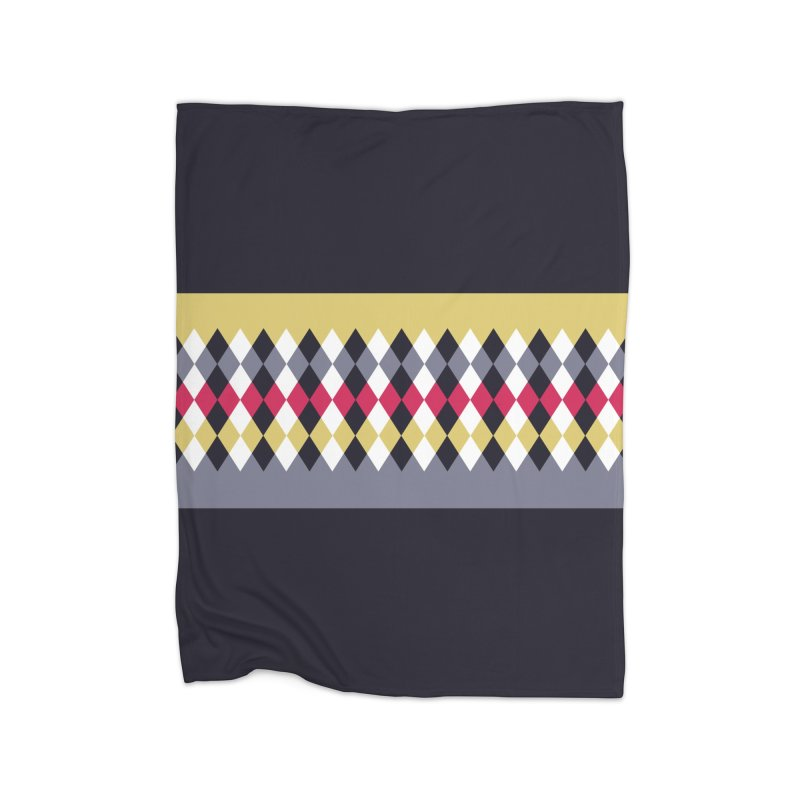 Countryside Pattern #2 in Fleece Blanket Blanket by YANMOS