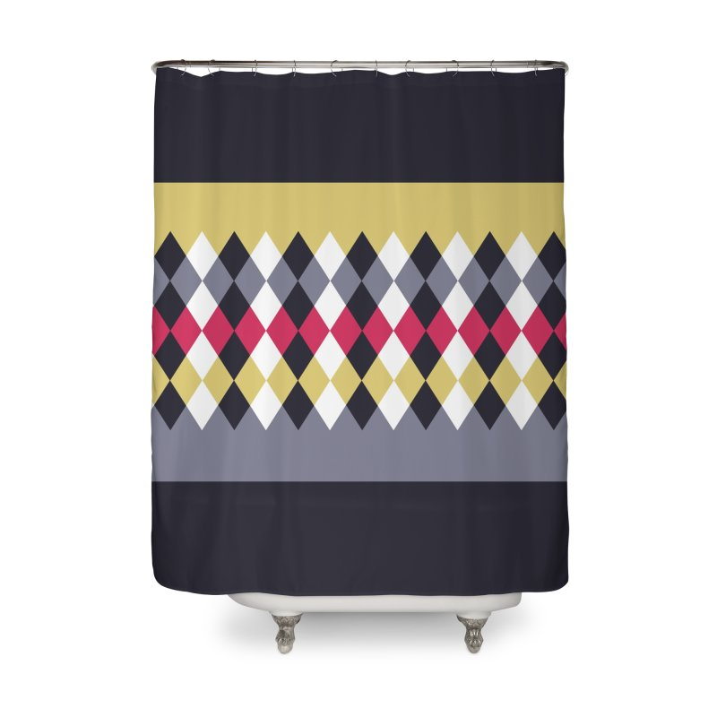 Countryside Pattern #2 Home Shower Curtain by YANMOS