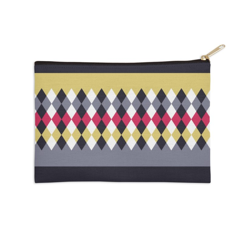 Countryside Pattern #2 Accessories Zip Pouch by YANMOS