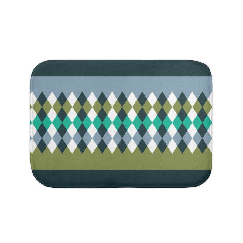 Countryside Pattern #3 Home Bath Mat by YANMOS