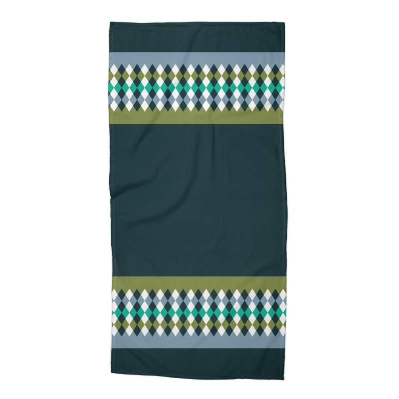 Countryside Pattern #3 Accessories Beach Towel by YANMOS
