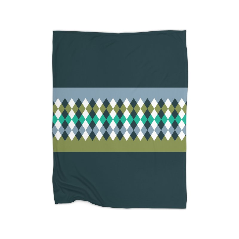Countryside Pattern #3 Home Blanket by YANMOS
