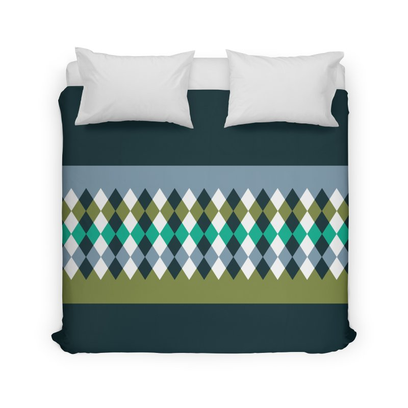 Countryside Pattern #3 Home Duvet by YANMOS
