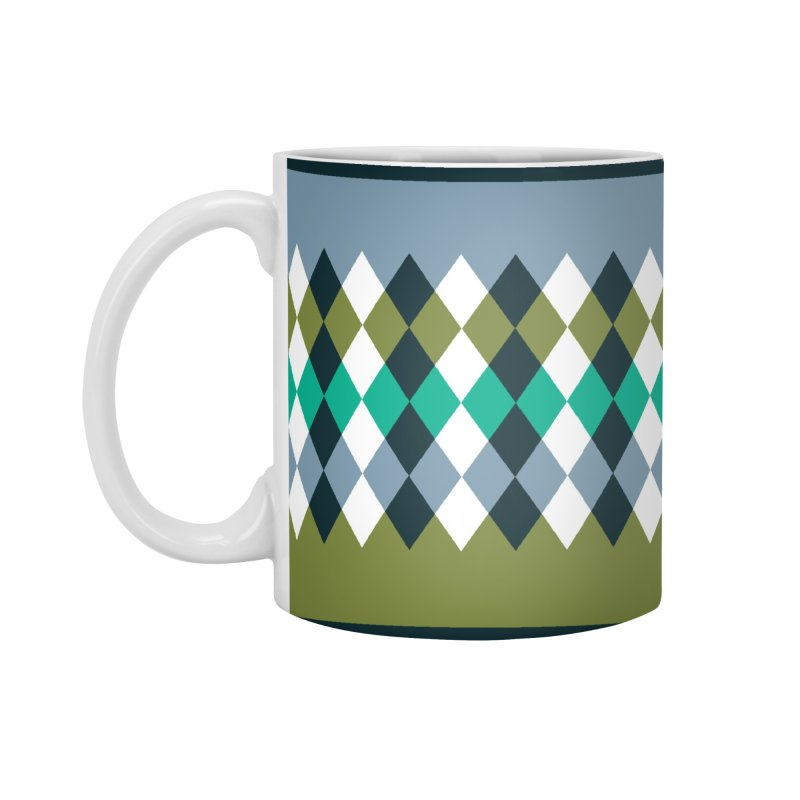 Countryside Pattern #3 Accessories Standard Mug by YANMOS