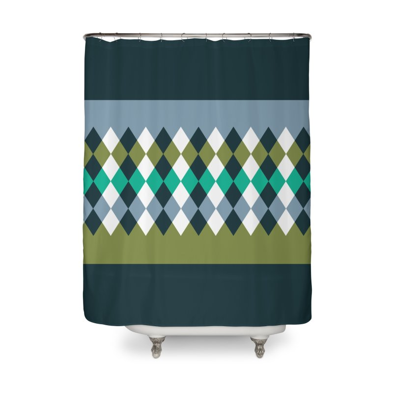 Countryside Pattern #3 in Shower Curtain by YANMOS