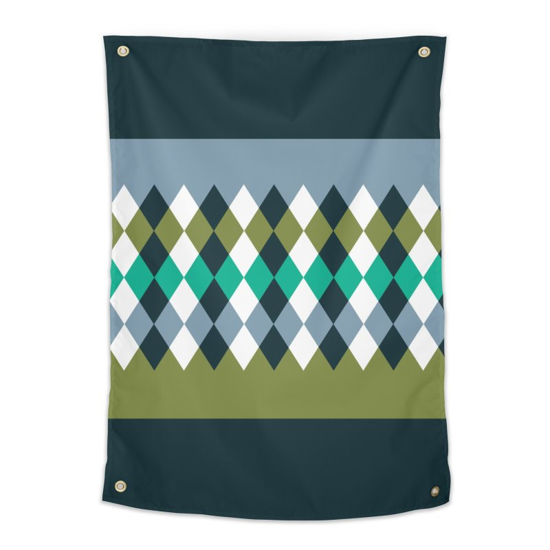 Countryside Pattern #3 Home Tapestry by YANMOS